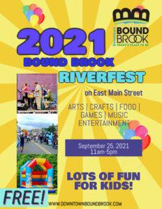 2021 RiverFest Street Fair