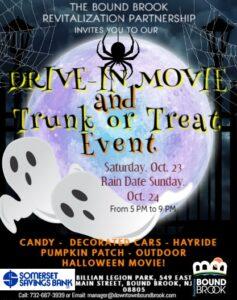Drive-In Movie & Trunk or Treat Event @ Billian Legion Park